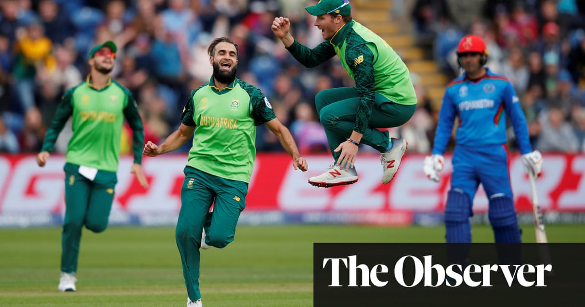 Imran Tahir Too Good For Afghanistan As South Africa Ease To