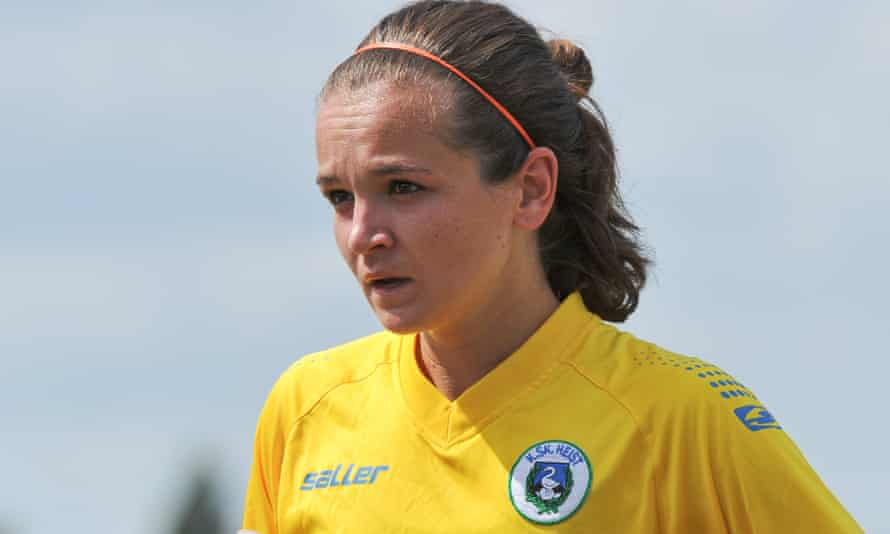 Emma Coolen: 'When I started I was playing in the lowest league, I was smoking, drinking. But I just tried to focus on the next step ahead of me.'