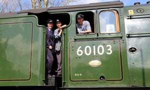 The Groome sisters volunteer to keep the Bluebell railway running