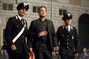 Tom Hanks as Robert Langdon in Angels & Demons.