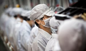 Apple supplier Foxconn's plant in the Longhua district of Shenzhen