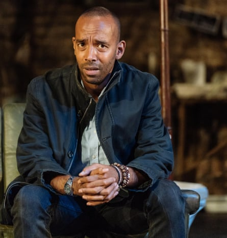 Played with authority … Kevin Harvey as Gregory Woods.