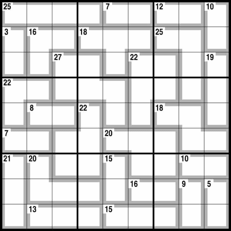 Observer killer sudoku 2,118