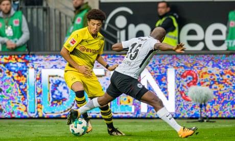 Napoli's perfect run ends while Jadon Sancho makes Dortmund debut