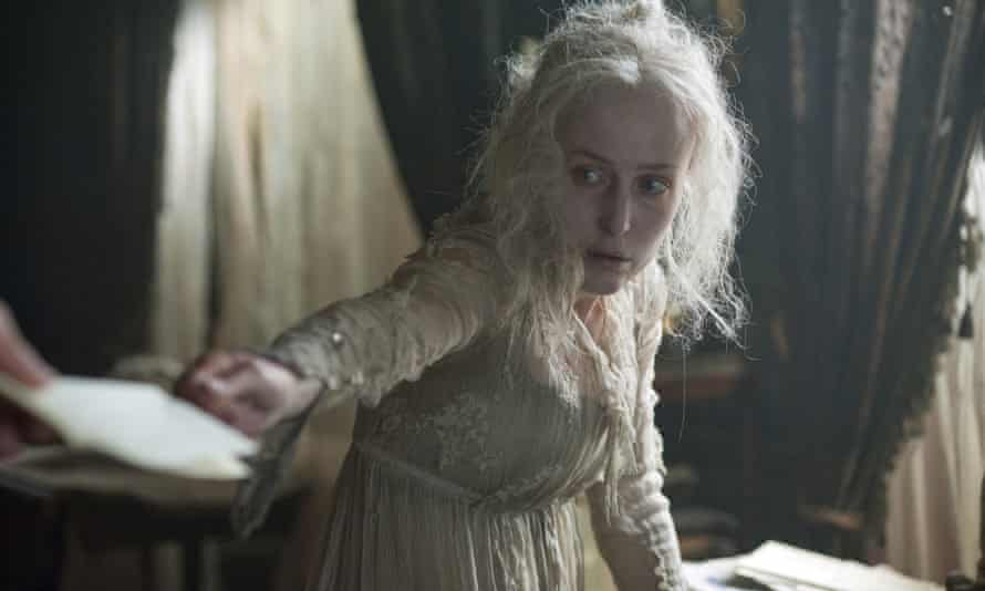 Gillian Anderson as Miss Havisham in the BBC adaptation of Great Expectations.