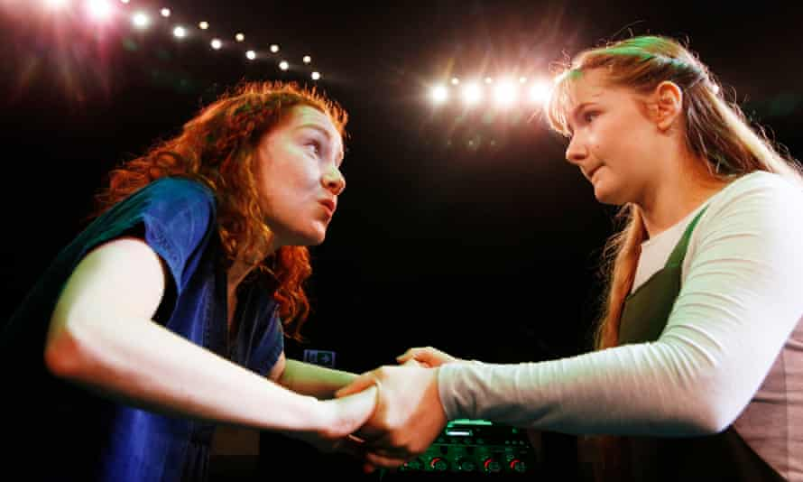 Mesmerising prowess … Kirsty Findlay and Bethany Tennick in Islander: A New Musical.