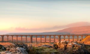 Ribblehead viaduct, North Yorkshire.