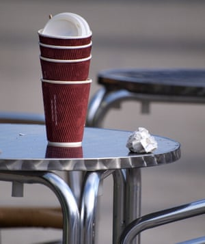Coffee cups are an acute litter problem in cities in particular.