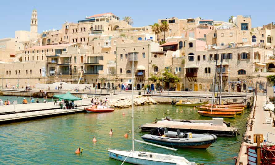 The Old Jaffa Port, Tel Aviv, is now used as a fishing harbour and tourist attraction.