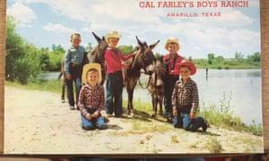 A postcard of Cal Farley's ranch that Steve Smith has kept.