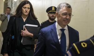 Until last week Kurt Volker was the administration's special envoy on Ukraine.