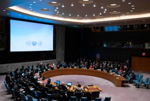 The UN could put that big screen to some use, though.