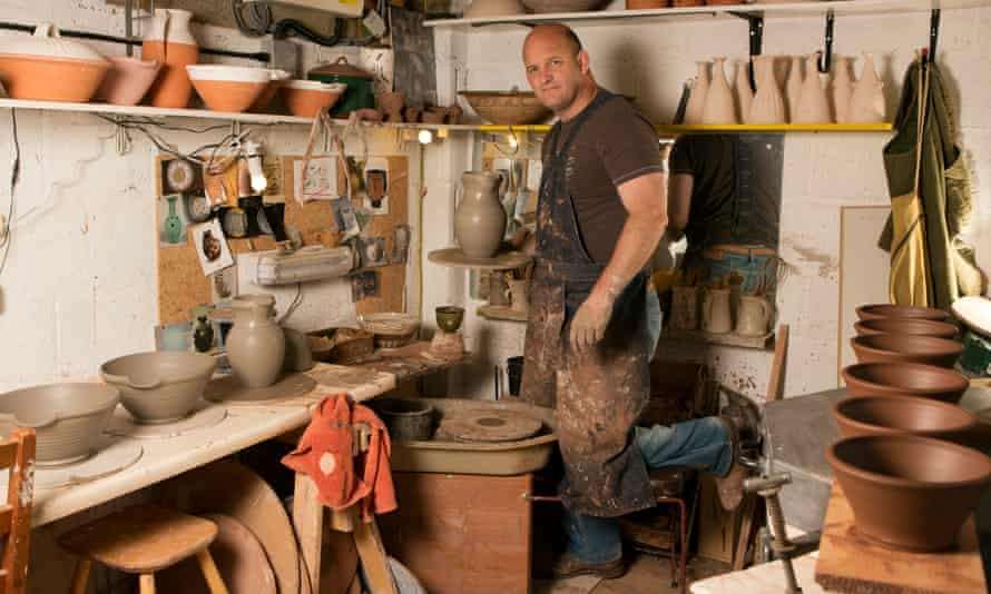 Tom Knowles-Jackson: 'I was quite well known at school as the guy who was always covered <br> in clay.'