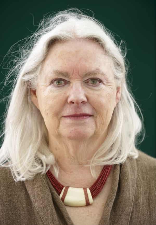 Gillian Clarke, national poet for Wales, at the Edinburgh International Book Festival, Aug 2009