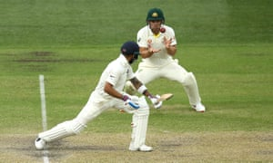 India gained the upper hand on day three of the first Test against Australia despite Virat Kohli's late dismissal.