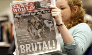 Front cover of the News of the World from Sunday 12 February 2006.