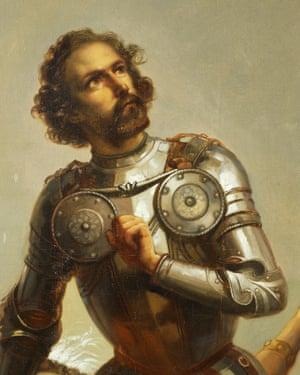 Hernán Cortés – mistaken for a god by Moctezuma.