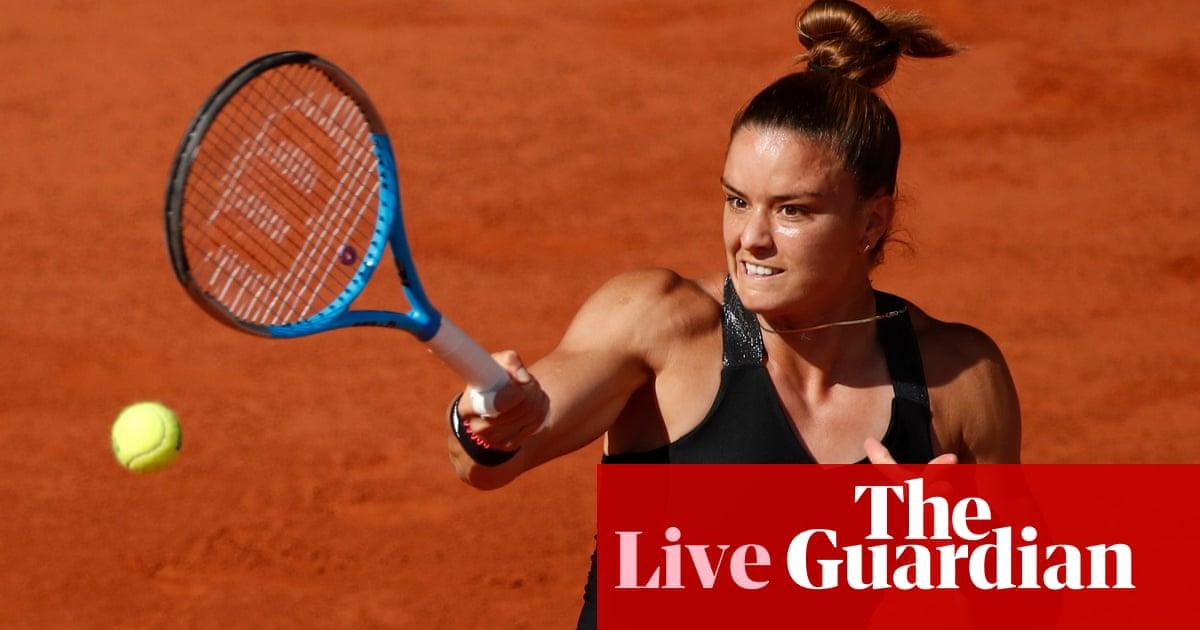 French Open 2021 semi-finals: Krejcikova v Sakkari, Pavlyuchenkova beats Zidansek – live!