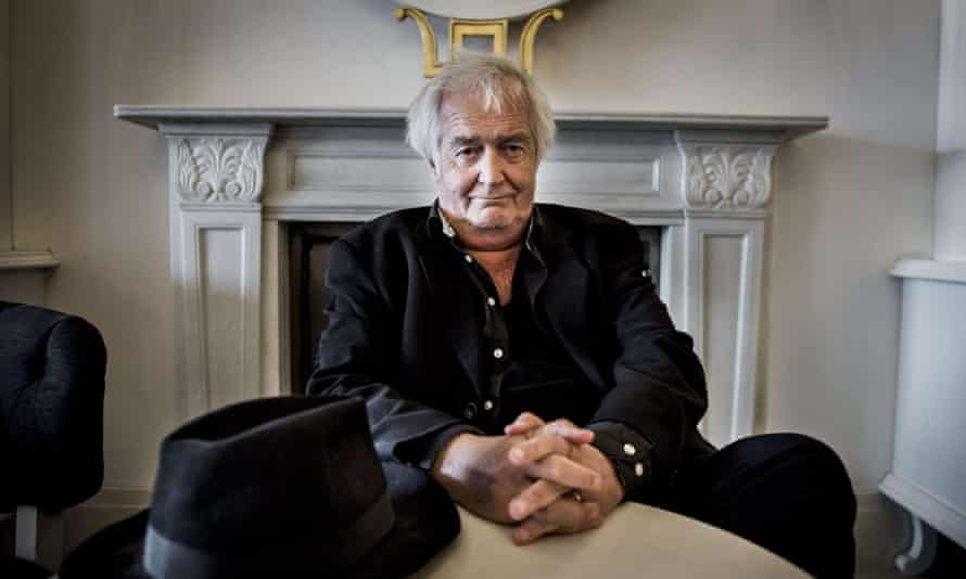 <strong>'An amazing gift': Henning Mankell in Stockholm in<br> June 2015.</strong>