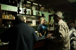 Slavko Kljescik, 53, a former resident of the institution who now lives out in the community and has a job in a local bar