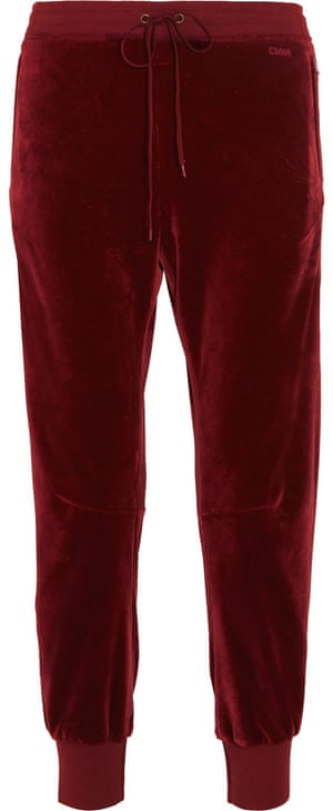 Trousers, £690, by Chloé from Matches Fashion.