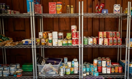 A food bank in Wales