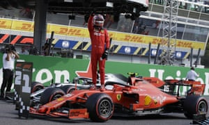 Charles Leclerc on Monza pole for Ferrari as qualifying ends