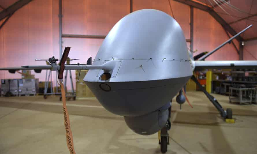 A US-made Reaper drone