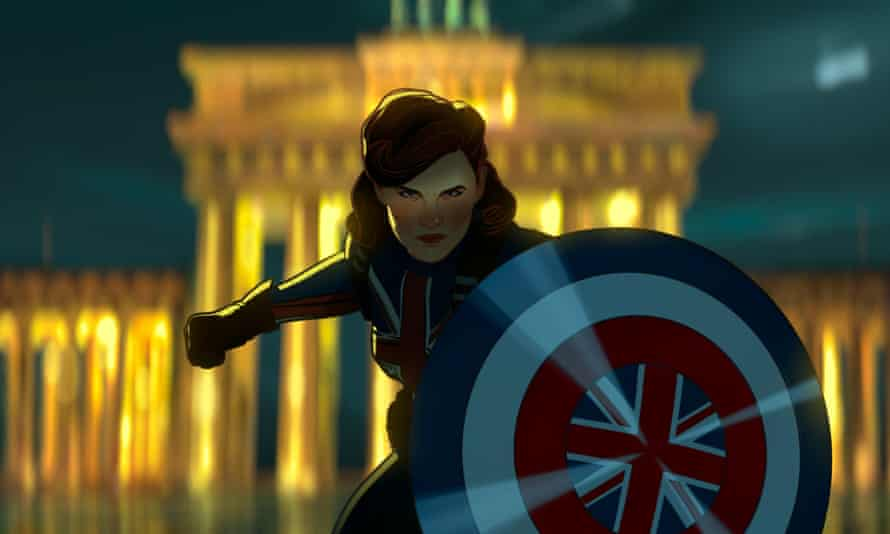 Agent with a shield ... Captain Carter in Marvel's What If ...?