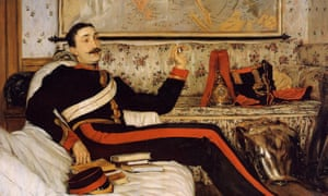 Capt Frederick Gustavus Burnaby, painted by James Tissot.