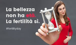 Fertility Day in Italy, government campaign