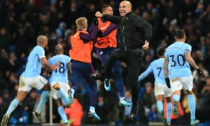 Manchester City winning the Premier League title was hardly unexpected for Pep Guardiola.
