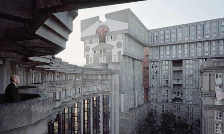 One of the modernist estates in Paris photographed by Laurent Kronental.