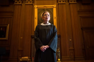 The supreme court justice Ruth Bader Ginsburg refers to her personal trainer as her 'guardian angel'. She wrote the foreword of his book.
