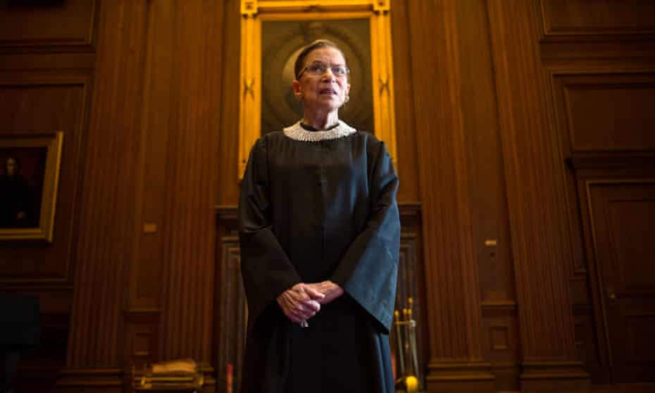 'She displayed a refusal to be bullied': Ruth Bader Ginsburg in the supreme court, Washington DC, August 2013