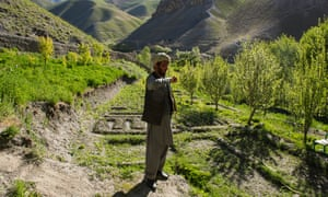 With water management in the village of Khoshgak, Haji Qadir is now able to grow crops in the valley.