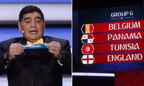 Fates and Diego Maradona hand England a World Cup group of hope   Barney Ronay