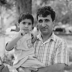 Abu Huraira with his father Afzal Huraira Abu Huraira recalls: 'My dad came to New York in the 1980s from Pakistan. We lived in Queens, five people in a dirty one-bedroom apartment. On 9/11 my dad got up at 4am to drive someone from JFK to Manhattan. He was heading away from the towers when a flood of emergency vehicles started speeding past him. I always felt closer to the victims, yet I was grouped in with the perpetrators. I remember the prejudice: 'Oh he's the Muslim, he's the terrorist' Despite that, my father and I are still hugely patriotic. We love the freedom here'