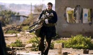 Sharlto Copley in District 9.