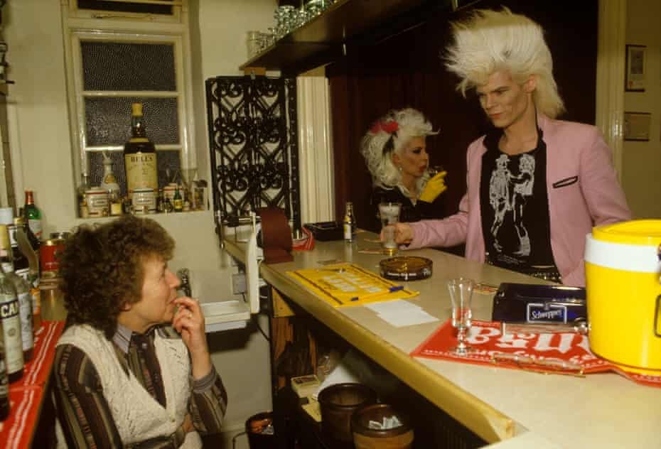 'I was just hanging around when Neal X and Yana YaYa came down to order drinks' … the band on the Love Missile F1-11 tour in 1986.