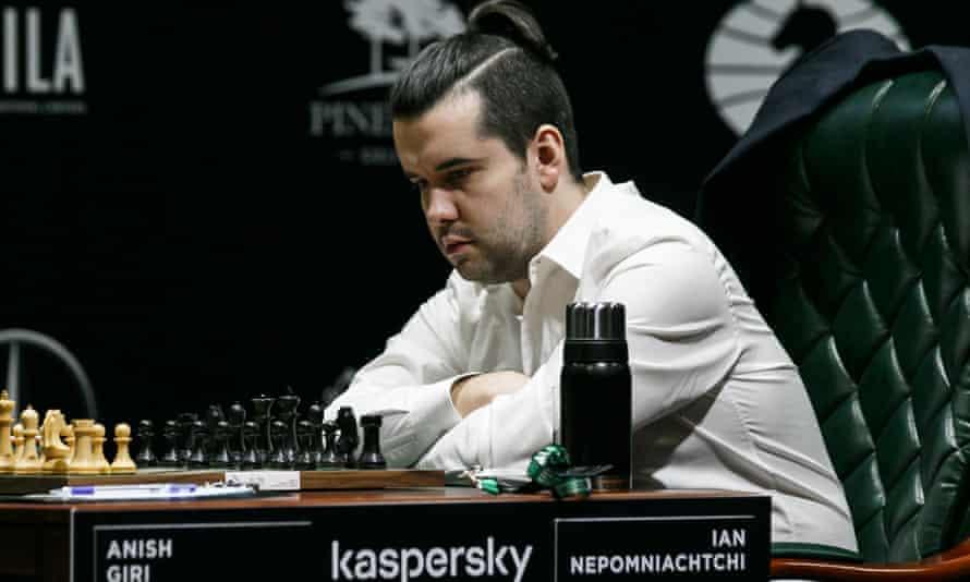 Russian champion Ian Nepomniachtchi
