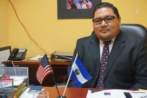 El Salvadoran vice consul Julio Cesar Martinez Pineda.