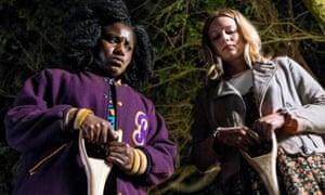 Demon hunters … Cara Theobold and Susan Wokoma in Crazyhead.
