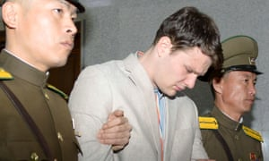 Experts believe of Otto Warmbier that the North Korean regime 'will not want to work him to death'.