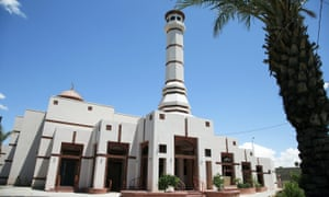 The Islamic Community Center of Phoenix, where protesters will stage their rally on Friday night.