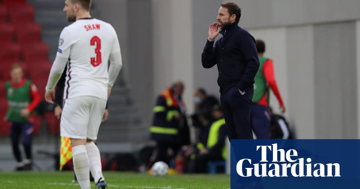 Gareth Southgate may select fewer defenders in England's Euro 2020 squad