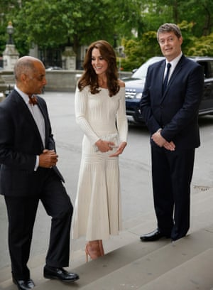 Kate Middleton at the Natural History Museum in London earlier this month.