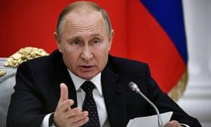 vladimir putin sends new year greetings to donald trump world news