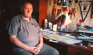 Malin Dimovski, 85, who was part of the electrician brigade that took part in Dimitrovgrad's construction.