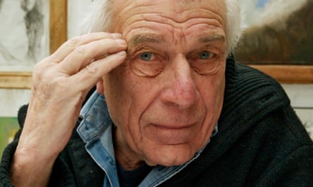 John Berger, who has died in Paris aged 90.